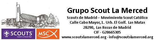 Sello Grupo Scout La Merced