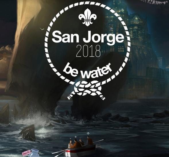 San Jorge 2018 En Alpedrete Grupo Scout La Merced